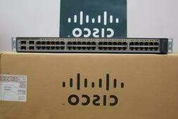 Cisco Catalyst WS-C3750V2-48PS-S 48-Port PoE Switch WS-C3750
