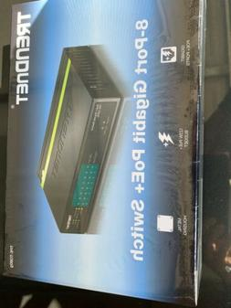TRENDnet GREENnet  POE 8-Ports Wall-mountable Switch